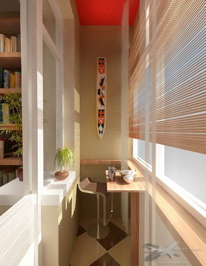 Оформление балкона в квартире.